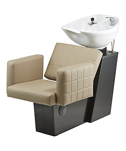 Pibbs 5221W Matera Backwash with Slide System White or Black Bowl Option