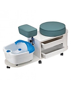 Pibbs DG102 Pedicure Station-White