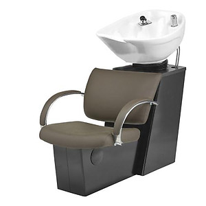 Pibbs 5232W Ragusa Backwash with Slide System White or Black Bowl Option