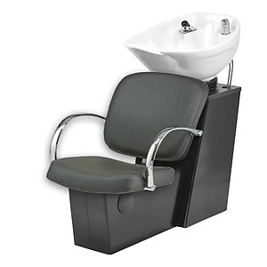 Pibbs 5235W Sessa Backwash with Slide System - White or Black Bowl