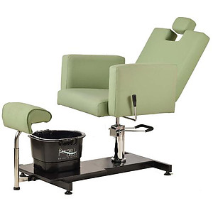 Pibbs PS13 Napoli Pedi Station w/ Adjustable Height Chair Footsie Footbath Included