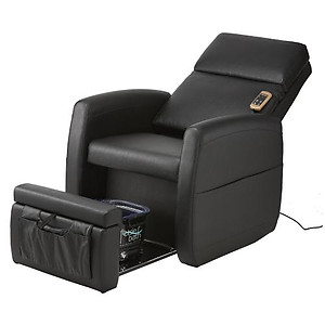 Pibbs PS9 Lounge Plumbing Free Foot Spa Pedicure Vibration Massage Chair