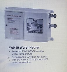 Pibbs PWH10 Water Heater Booster