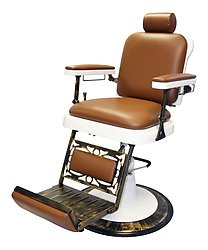 Pibbs 662 The King Barber Chair with White Base